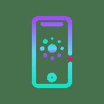 Babyscripts Pregnancy App on Mobile Phone Icon.