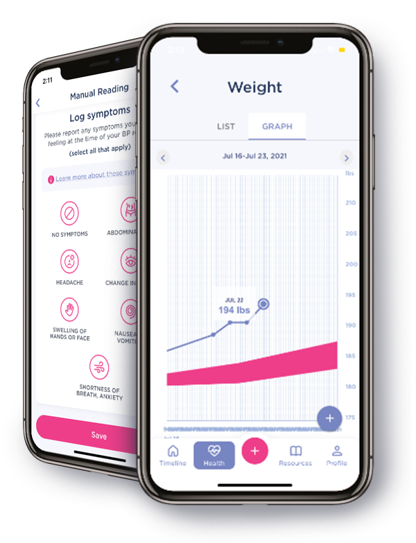 Babyscripts_pregnancy_weight tracking