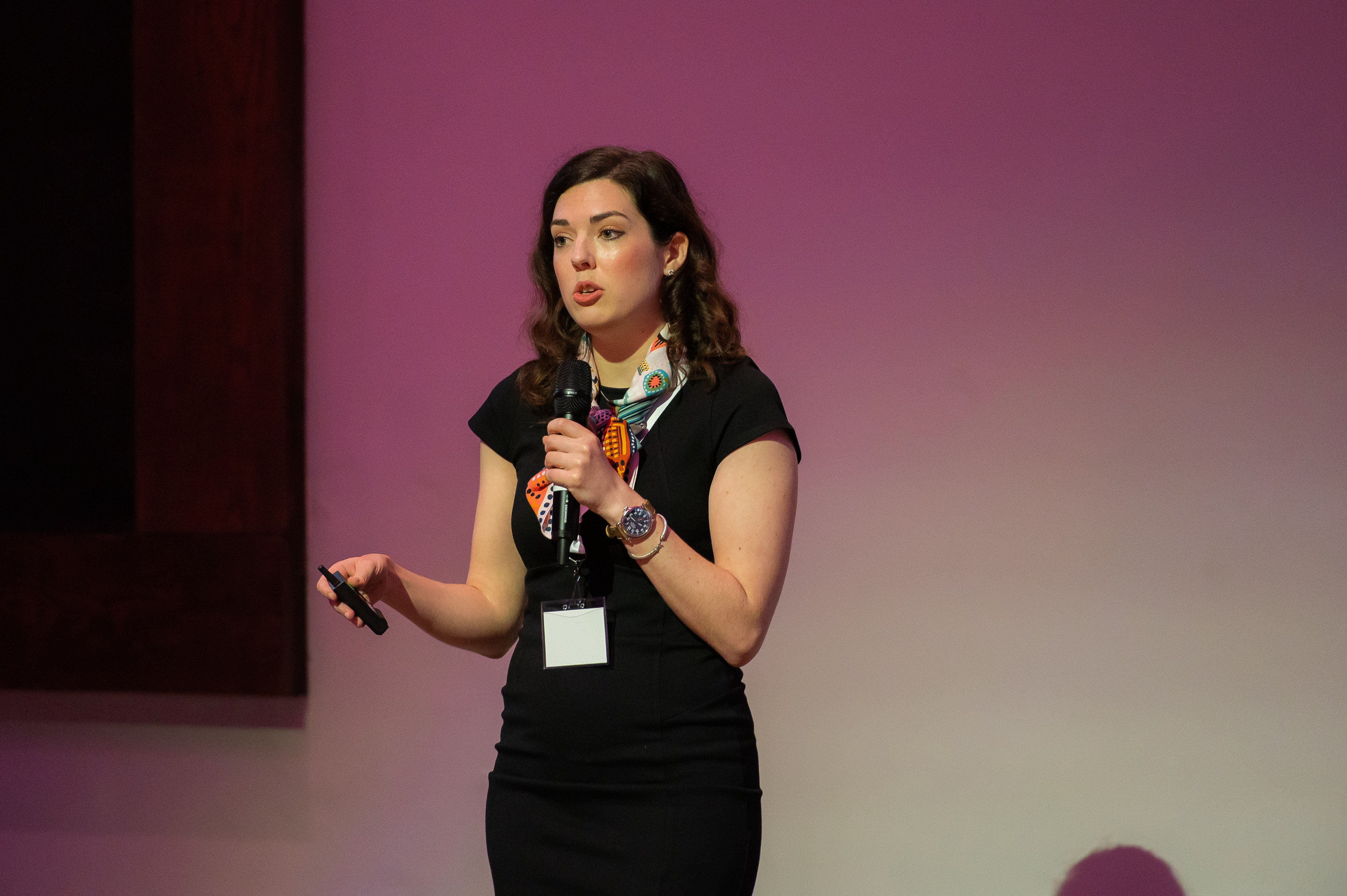 Kathryn Austin from AVIA presenting marketinsights
