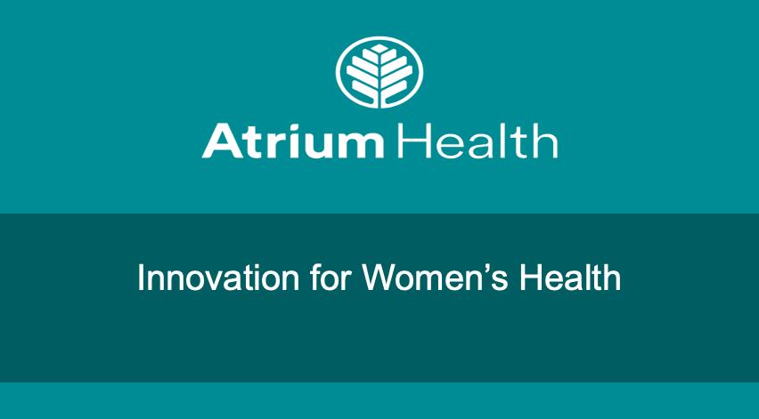Atrium Health Webinar
