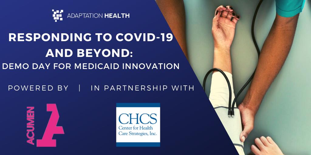 Social Share Medicaid Virtual Demo Day Banner